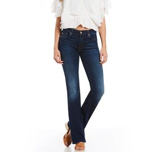 7 For All Mankind A Pocket Flare Stretch Jeans